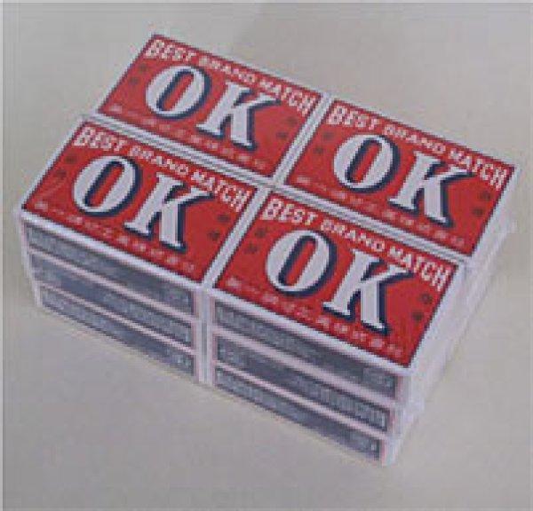 画像1: OK印並型マッチ12箱 (1)
