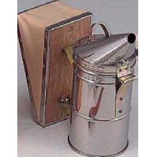 画像1: ステンレス製大型燻煙器 (1)