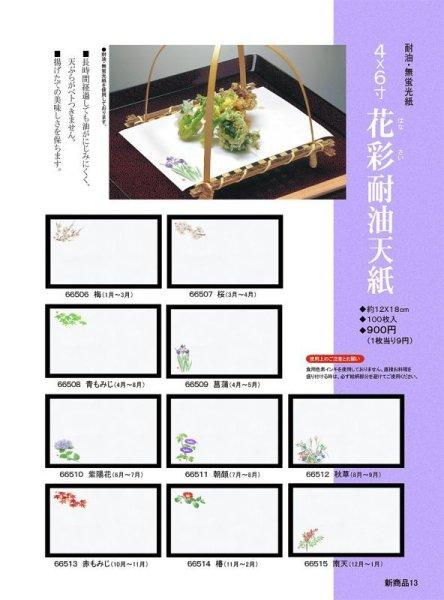 画像1: 花彩耐油天紙100枚セット (1)