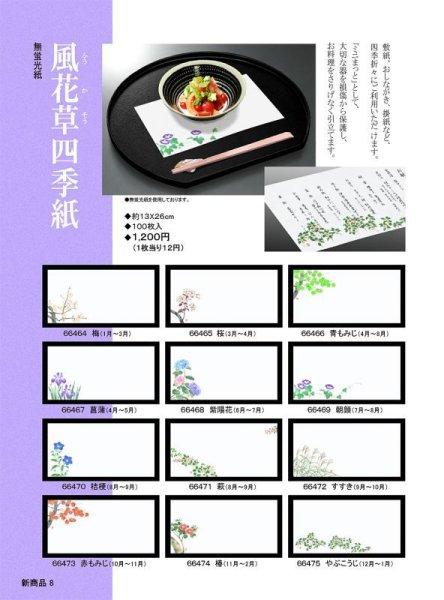 画像1: 風花草四季紙100枚セット (1)