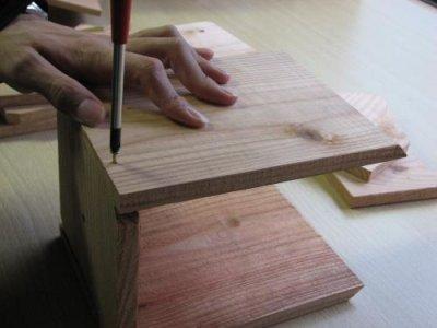 画像2: [予約]小鳥巣箱(片屋根タイプ)組立キット