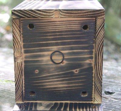 画像2: [予約]小鳥巣箱(片屋根タイプ)完成品