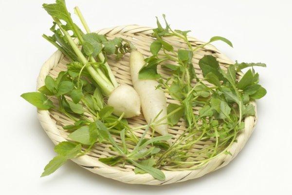 画像1: 春の七草苗全種セット (1)