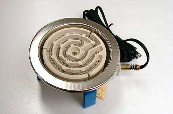 画像1: 電気コンロ(300w) (1)