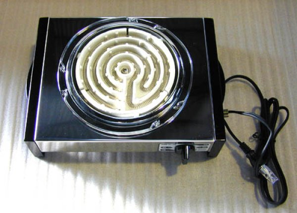 画像1: SUR電気コンロ(600w) (1)